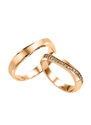 [14K Gold]카틀레야 커플링Cattleya Couple ring j4214