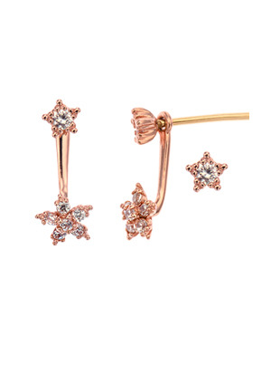 [14K Gold] 리틀 스타 이어링 Little Star Earring no. j3781