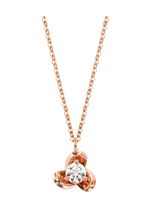 [14K Gold] 로즈 봉봉 목걸이 Rose BongBong Necklace no.j3345