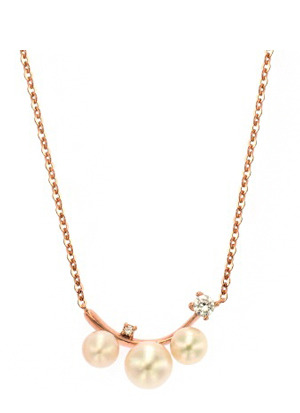 [14K Gold] 펄 샤이니 목걸이 Pearl Shiny Necklace no.j3948