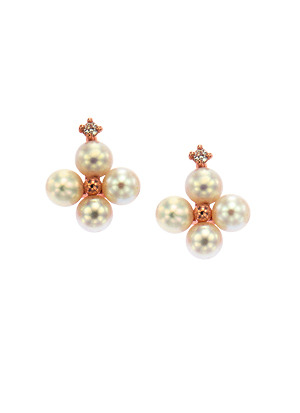 [14K Gold] 모모 플라워 귀걸이 Momo Flower Earring no.j3847