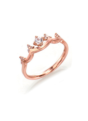 [14K Gold] 줄리아나 반지 Juliana  Ring no.j3357